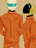 daft punk orange